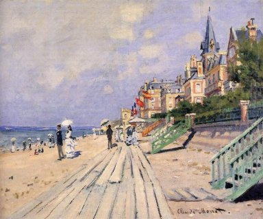 The Boardwalk At Trouville