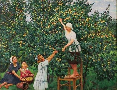Picking Apples 1928