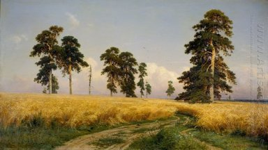 The Field Of Wheat 1878
