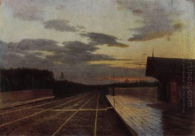 The Evening After The Rain 1879