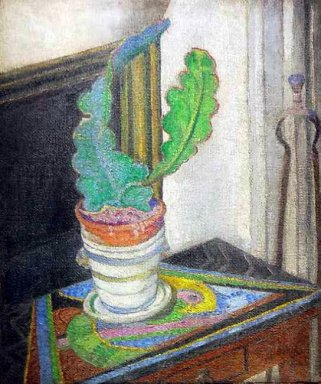 Futurist Still Life With Cactus 1928