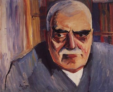 Portrait Of Architect Toros Toramanian 1934