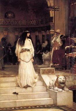 Mariamne leaving the Judgement Seat of Herod 1887