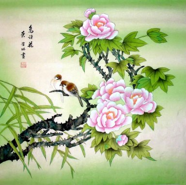 Birds&flowerse - Chinese Painting