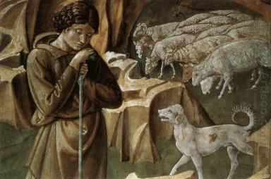 The Vigil Of The Shepherds Detail