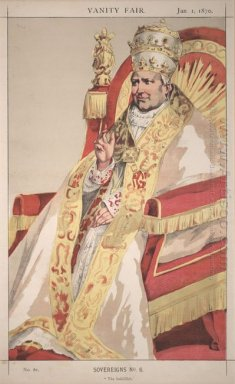 Sovereigns No 60 Caricature Of Pope Pius Ix