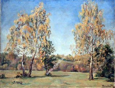Autumn Birches 1933