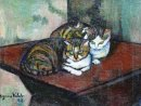 Two Cats 1918