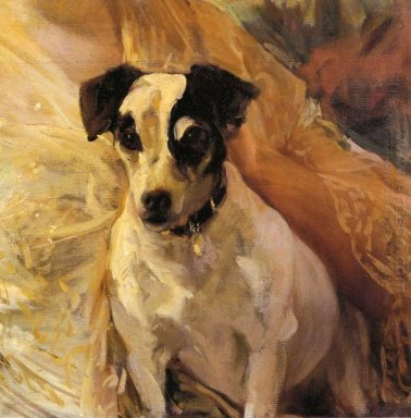 Portrait Of A Jack Russell 1909