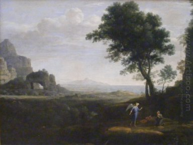 Hagar And Ismael In The Desert