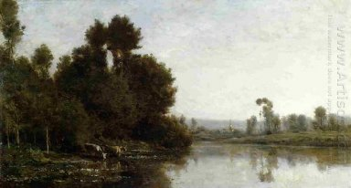 The Banks Of The River 1863