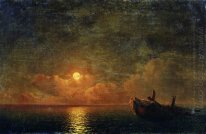 Moonlit Night Wrecked Ship 1871