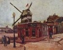 The Moulin De La Galette 1886