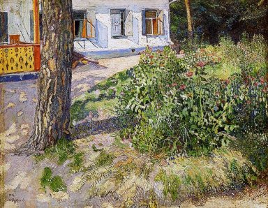 Landscape With A Flowerbed 1906