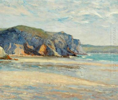 The Beach At Morgat Finistere 1899