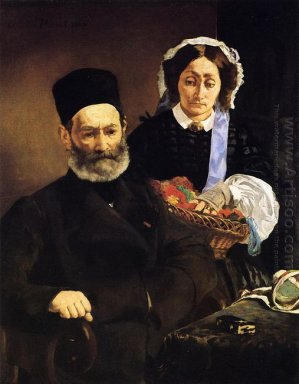 portrait of monsieur and madame auguste manet 1860