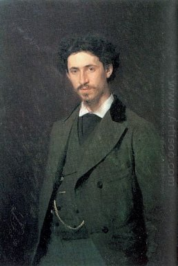 Portrait Of The Artist Ilya Repin
