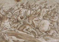 Defence of Ponte Rozzo on the river Ticino in 1524