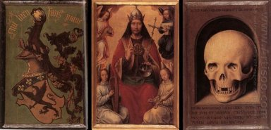 Triptych Of Earthly Vanity And Divine Salvation