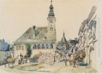 The Town Hall In Mödling 1842 1