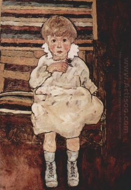 seated child 1918