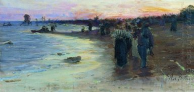On The Shore Of The Gulf Of Finland 1903