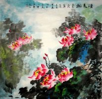 Lotus-Verano - la pintura china