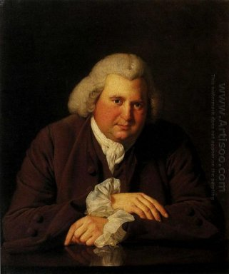 Portrait Of Dr Erasmus Darwin 1731 1802 Scientist Inventor And P