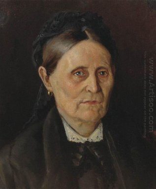 Portrait Of M M Nesterova The Artist S Mother