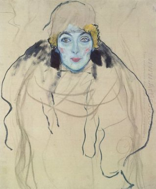Portrait Of A Lady Unfinished 1918