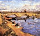 The Gleize Bridge Over The Vigneyret Canal 1888