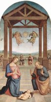Altarpiece Of St Augustine Adoration Of The Shepherds 1510