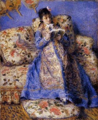 Camille Monet Reading 1872
