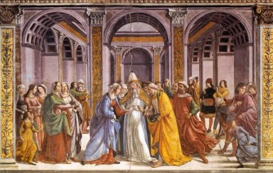 Marriage Of Mary 1490