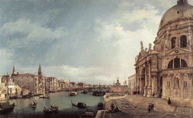 entrance to the grand canal looking east 1744