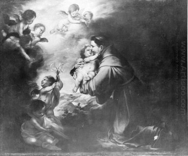 Saint Anthony Of Padua Adore The Child