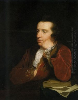 Portrait Of George Colman The Elder