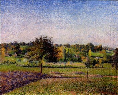 meadows at eragny 1886