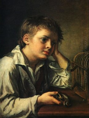 Boy With A Dead Goldfinch 1829
