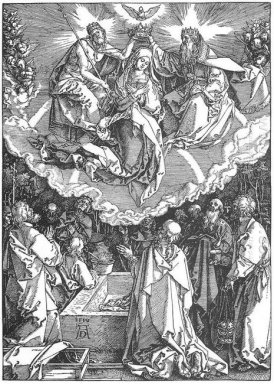 the coronation of the virgin 1510