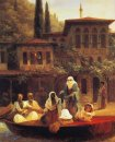 Boat Ride By Kumkapi In Constantinople 1846