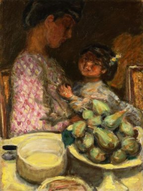A Plate Of Figs 1921