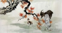 Sheep-Sanyangkaitai - Chinese Painting