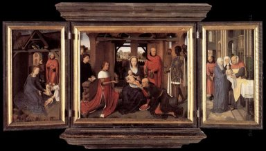 Triptych Of Jan Floreins 1479