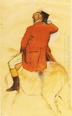 rider in a red coat 1868