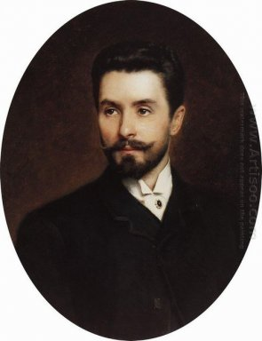 Portrait Of Russian Opera Singer Nikolay Figner