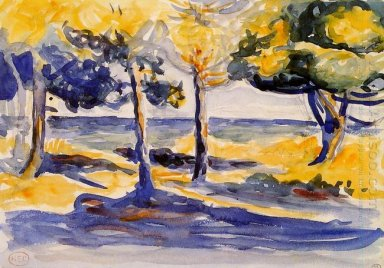 Trees By The Sea 1907