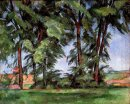 Tall Trees At The Jas De Bouffan 1887