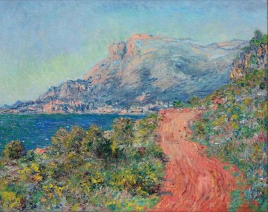 The Red Road Near Menton 1884