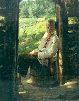 Portrait Of The Ukrainian Boy